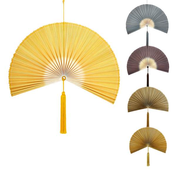 Wallhanging bamboo fan