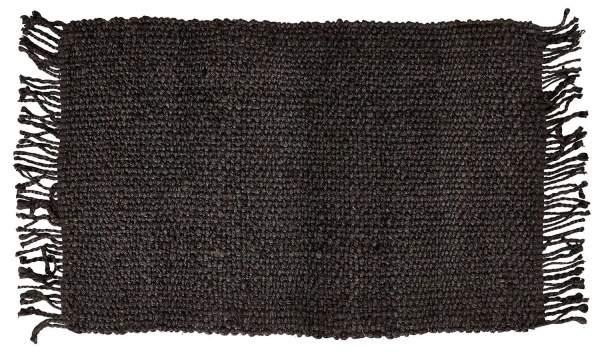 Schlichter nachhaltiger Teppich aus Jute von liv interior