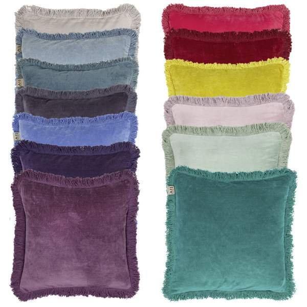 Velvet cushion covers square