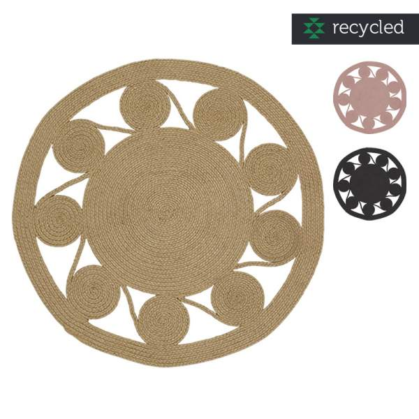 Round rug I in - and outdoor I liv