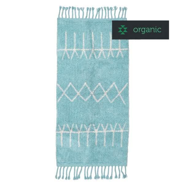 Blue Rug ACAPULCO I organic cotton