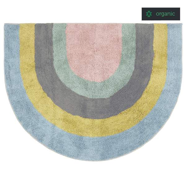 Rug RAINBOW I organic cotton
