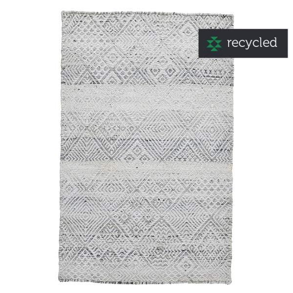 PET rug ATHENS white