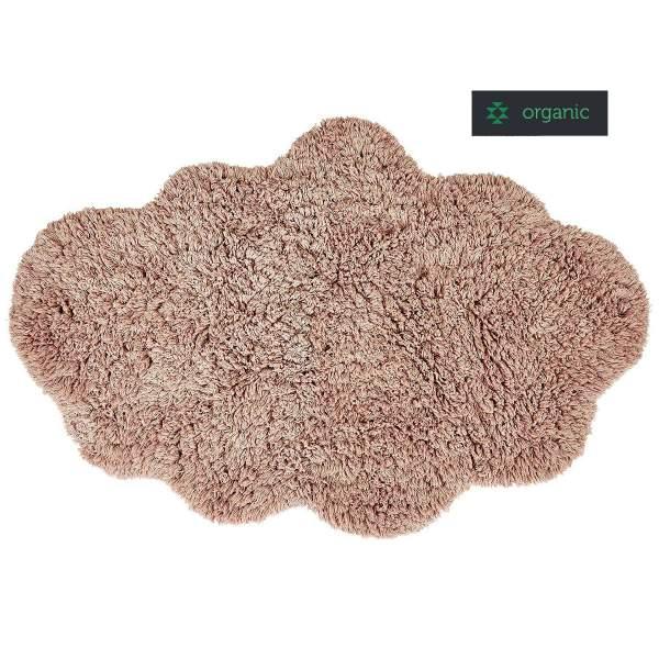 Nachhaltiger wolkenförmiger Teppich CLOUD in rosa von liv interior
