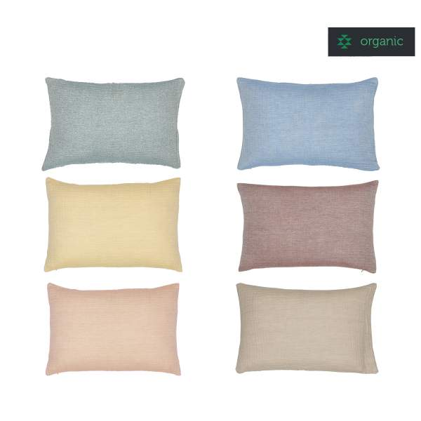 Cushion AURA I organic cotton