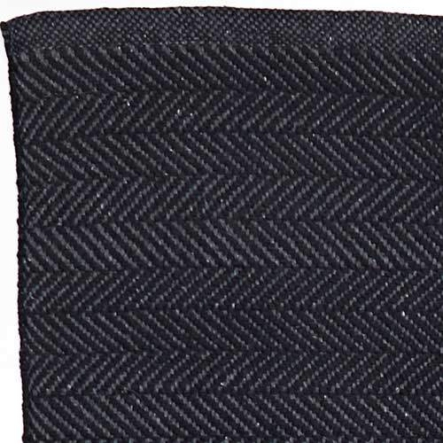 Baumwollteppich HERRINGBONE black