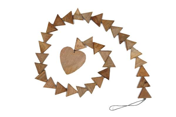 Wooden Chain with triangle beads
