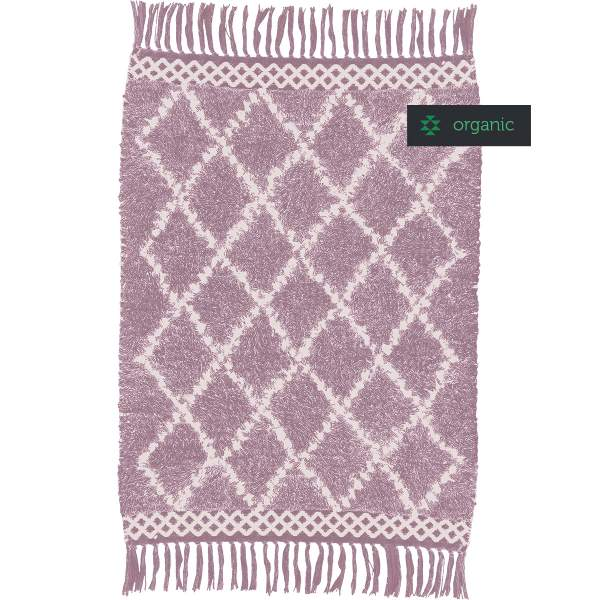 Organic cotton runner MOROCCO