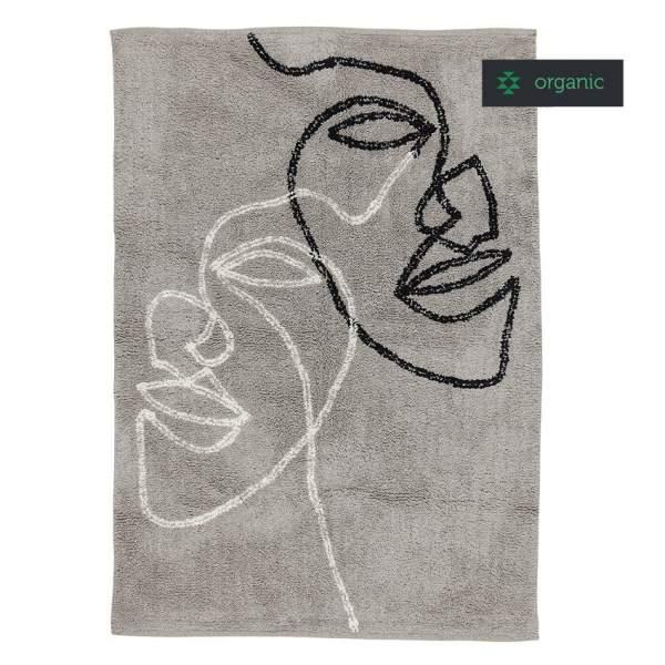 Organic cotton rug VISAGE II