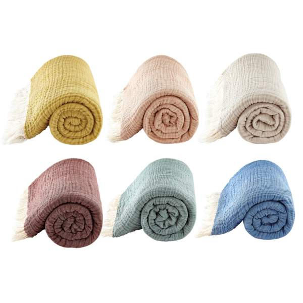 Throw AURA I organic cotton
