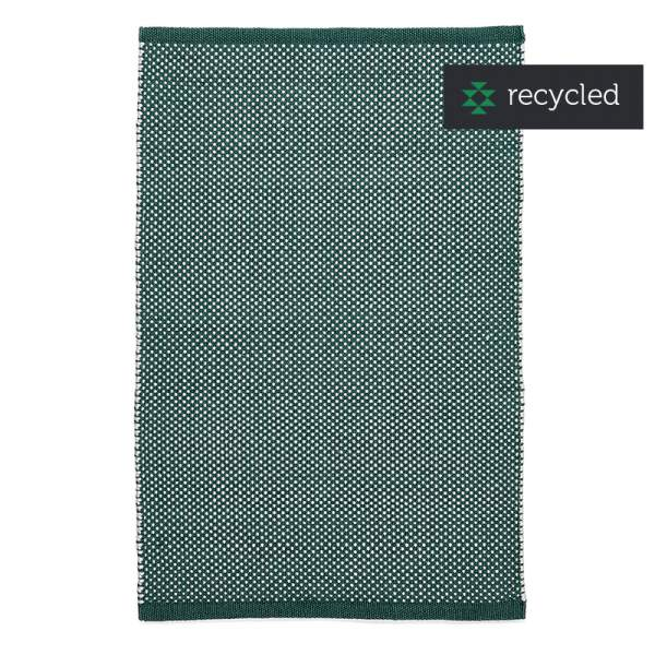 PET rug DOTS beryl green